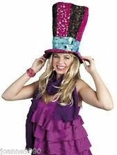 LADIES BOOK DAY MAD HATTER TEA PARTY ALICE IN WONDERLAND FANCY DRESS COSTUME HAT