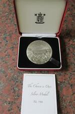 2004  Royal Mint  5 oz SILVER British Art Medals, Medal THE CHOICE IS OURS