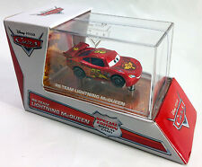 RS TEAM LIGHTNING McQUEEN disney pixar cars 2 exclusive special edition display
