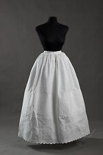 Embroidered Petticoat, mid-19th century, Very Accurate Reprocution