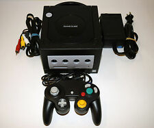 Black Nintendo Gamecube Console Video Game System Complete Tested