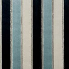 Clarke and Clarke Emilio Mineral Velvet Stripe Upholstery Curtain Fabric
