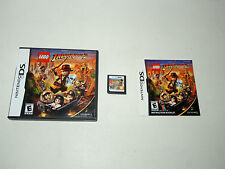 LEGO INDIANA JONES 2 complete in box with manual Nintendo DS game