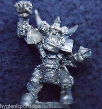 1993 Orc Bloodbowl 3rd Edition Blocker 2 Citadel Orcland Raiders Black Ork Team