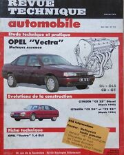 Revue technique OPEL VECTRA GL GLS CD GT moteurs essence 515 1990 + CITROEN CX