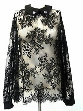 TWIN-SET SIMONA BARBIERI Bluse Top Hemd Size L  New Neu Dress Kleid Robe