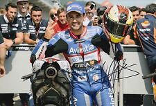 Hector Barbera Hand Signed 12x8 Photo Avintia Racing Ducati 2016 MOTOGP 6.