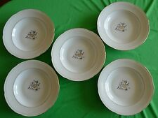 Vintage Germany Bavaria HEINRICH Winterling plate 5pcs LORE Import mark RARE