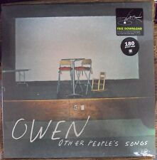 OWEN Other People's Songs LP SEALED w/download Polyvinyl indie-rock Joan Of Arc