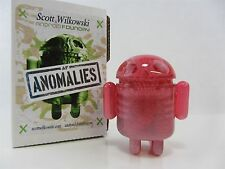Scott Wilkowski INFECTED ANDROID ANOMALIES resin Pink w/ heavy silver sparkle