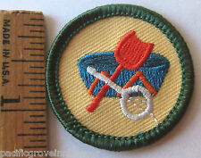 Retired Girl Scout Junior LOCAL LORE BADGE Community Town History Heritage Patch