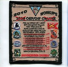 CVW-3 CVN-75 USS HARRY TRUMAN 2010 WORKUPS US Navy Ship Squadron Cruise Patch