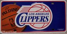NBA Aluminum License Plate Los Angeles Clippers NEW