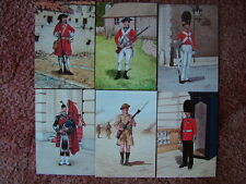 6 Card Set No 25 Military Postcards THE SCOTS GUARDS. Mint condition.