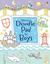 Usborne Doodle Pad for Boys by Fiona Watt, Book, New (Paperback, 2012)