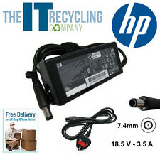 GENUINE ORIGINAL HP LAPTOP POWER SUPPLY CHARGER P/N: 463552-001 / 463958-001