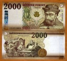 Hungary, 2000 Forint, 2016, P-New, redesigned UNC