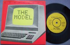 KRAFTWERK The Model / Computer Love UK EMI PIC SLEEVE Krautrock Electronica