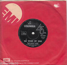 SOLOMON KING She Wears My Ring / I Get That Feeling Over You 45