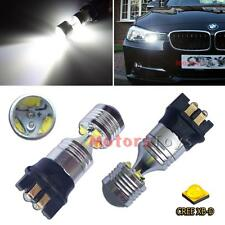2x CAN-bus White 30w CREE PW24W LED Bulbs For BMW F30 3 Series DRL Running Light