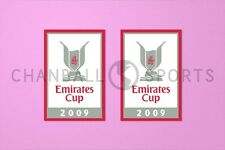 Arsenal Emirates Cup 2009 Sleeve Soccer Patch / Badge