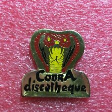 Pins Club DISCOTHÈQUE le COBRA