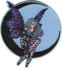 FAIRY moon dream EMBROIDERED PATCH by amy brown- **FREE SHIPPING** -c p3152