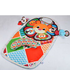 Kids Baby peek & play tummy training time activity panda tiger infant floor mat