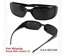 PIN - BLACK EYES EYESIGHT VISION IMPROVE TRAINING EYE EXERCISE USA SELLER - HOLE