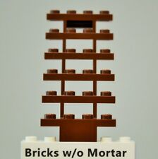 New Genuine LEGO Reddish Brown Stairs City Town Minifig Ladder 41122 10246