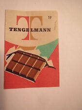 Tengelmann - Schokolade / Streichholzetikett