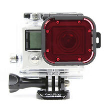 Polar Pro GoPro Snorkel Red Hero 3 Standard 60m Housing Filter P2009