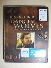 Dances with Wolves (Blu-ray Disc 2011, 2-Disc Set, 20th Anniversary) W/Slipcover