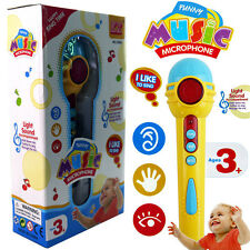 BABY MUSICAL INSTRUMENT PLAY SET SINGING MICROPHONE LED LIGHT EDUCATIONAL TOY