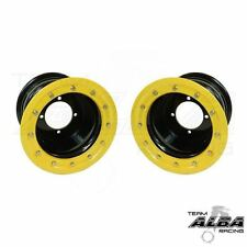 LTR 450 LTZ 400  Rear Wheels  Beadlock  9x8  3+5  4/110  Alba Racing  B/Y
