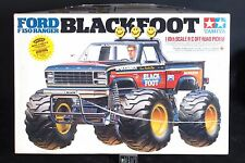 Vintage 1986 1/10 Tamiya Blackfoot 2WD RTR Kit w/Controller RC Model 58058