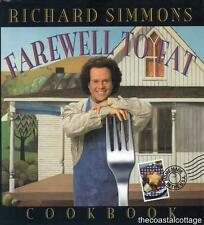 Richard Simmons Farewell To Fat Cookbook : Homemade in the U.S.A 1996 HC / DJ