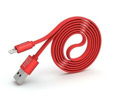 PINENG PN-302 Iphone High Speed Noddle Design USB Charging/Data Cable (1m) - Red