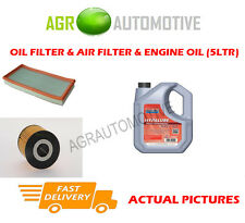 PETROL OIL AIR FILTER KIT + FS 5W40 OIL FOR VOLVO V40 2.0 160 BHP 1997-04