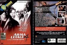 ARMA LETALE 4 - DVD NUOVO E SIGILLATO, PRIMA STAMPA SNAPPER, DIRECTOR'S CUT