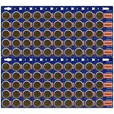 100 pc SONY CR2032 CR 2032 3V Lithium Batteries Expire 2025 (100 Coin Cells)