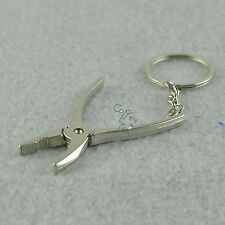 New Novelty Cute Adjustable Pliers Key Ring Keyfob Creative Tool Key Chain Gift