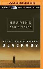 Hearing God's Voice by Henry Blackaby and Richard Blackaby (2015, MP3 CD,...