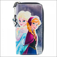 Disney Frozen Envelope Zip Around Clutch Wallet Purse Phone Case with Olaf Charm