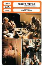 FICHE CINEMA : COOKIE'S FORTUNE - Close,Moore,Tyler,O'Donnell,Altman 1999