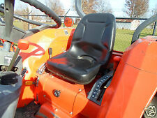 NEW HIGH BACK SEAT FOR KUBOTA COMPACT TRACTORS L2900, L3300, L3600, L4200 #IR