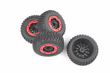 4X Bead-Lock Short Course Tire&Wheel Rim 02 For 1:10 TRAXXAS Slash RC Car Truck