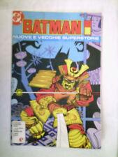 BATMAN NUOVE E VECCHIE SUPERSTORIE ANNO 1 nr 4 GLENAT ITALIA 1992
