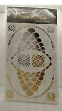 Flash Tattoos NORDSTROM  RACK Metallic Temporary Jewelry Tattoos 4 Sheet Pack