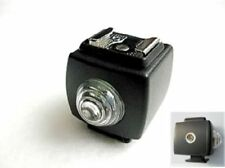 BRAND NEW Slave Trigger for Hot Shoe Flash / Optical Wireless (w/ Sync Socket)